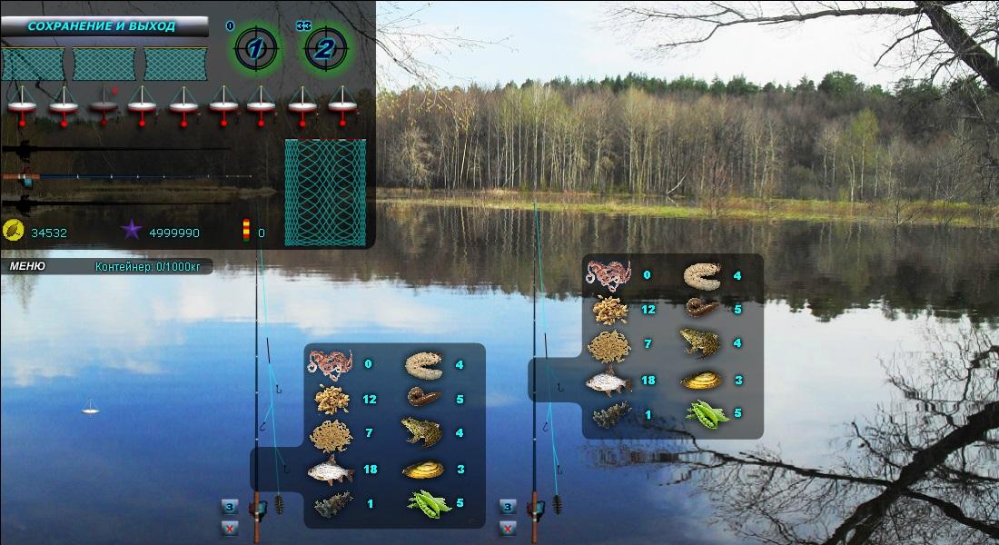 Игра рыбалка и охота fish rifle