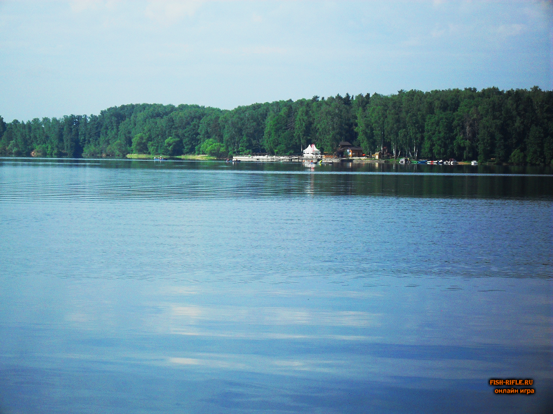 Рыбалка на Истренском вдхр