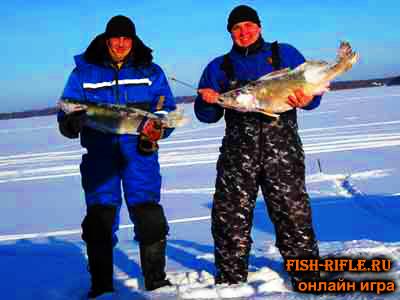 зимняя рыбалка на валдае