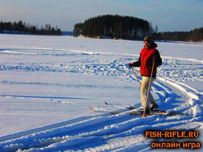 рыбалка зимой на озере Велье