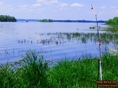 Рыбалка в дельте Волги.