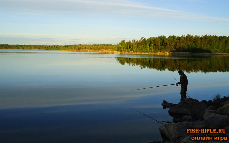 Летняя рыбалка: Ладожское озеро