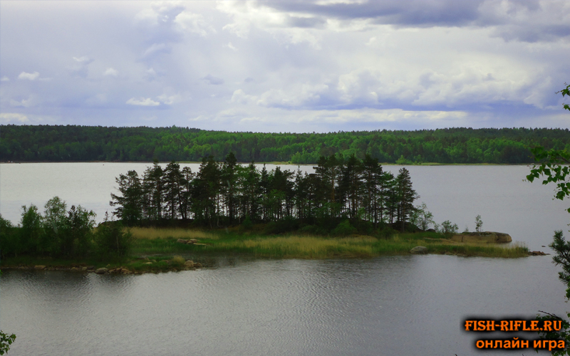 Рыбалка в шхерах Ладожского озера