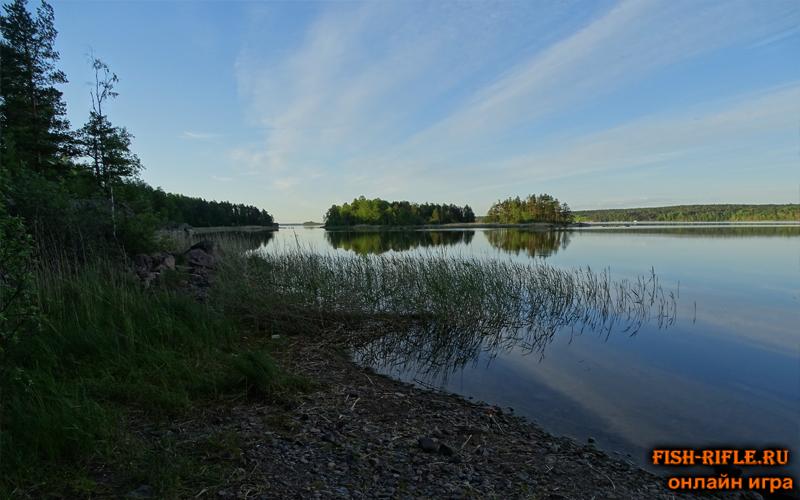 Рыбалка в шхерах: Ладожское озеро